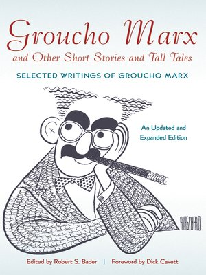 cover image of Groucho Marx and Other Short Stories and Tall Tales