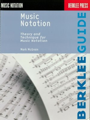cover image of Music Notation