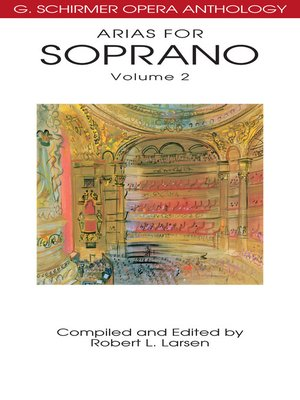 cover image of Arias for Soprano, Volume 2