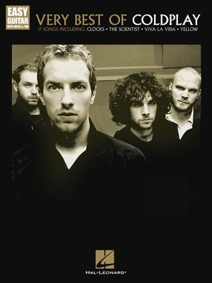 cover image of Very Best of Coldplay (Songbook)