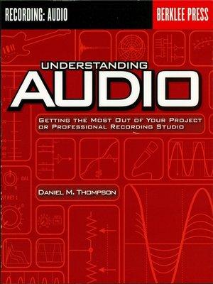 cover image of Understanding Audio