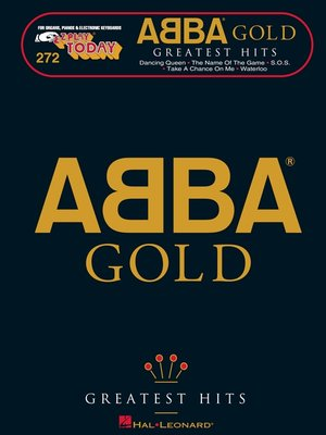 cover image of ABBA Gold--Greatest Hits (Songbook)
