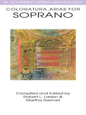 cover image of Coloratura Arias for Soprano