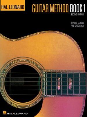 cover image of Hal Leonard Guitar Method Book 1