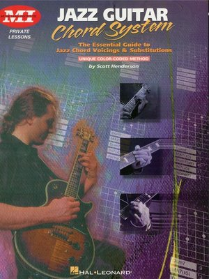 cover image of Jazz Guitar Chord System (Music Instruction)