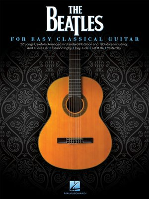 cover image of The Beatles for Easy Classical Guitar