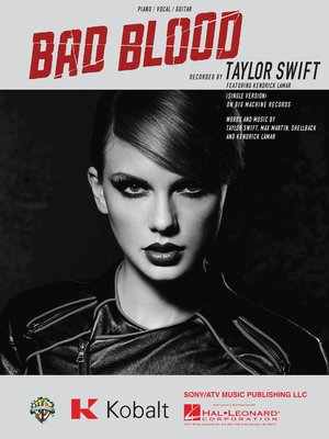 cover image of Bad Blood Sheet Music