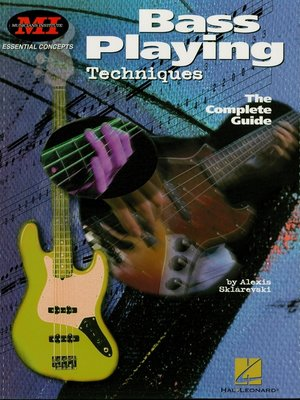 cover image of Bass Playing Techniques (Music Instruction)