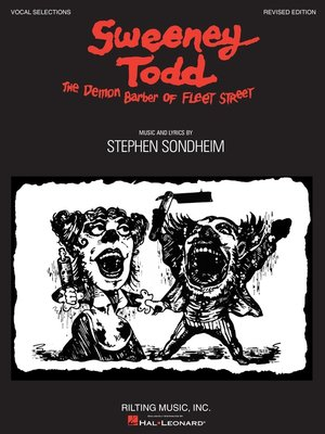 cover image of Sweeney Todd  Edition (Songbook)
