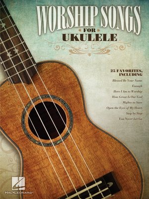 cover image of Worship Songs for Ukulele (Songbook)