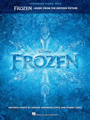cover image of Frozen--Beginning Piano Solo Songbook