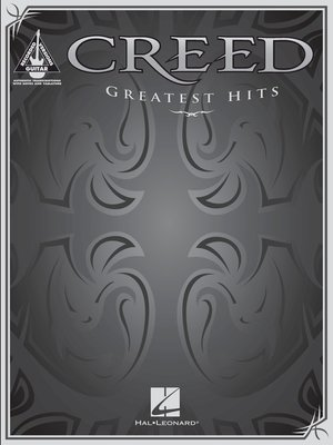 cover image of Creed--Greatest Hits Songbook