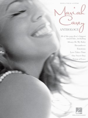 cover image of Mariah Carey Anthology (Songbook)