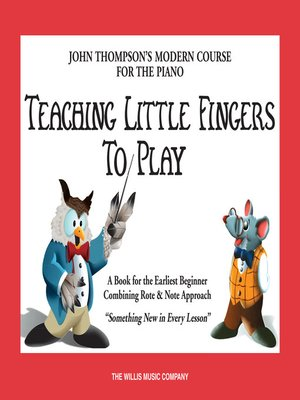 cover image of Teaching Little Fingers to Play