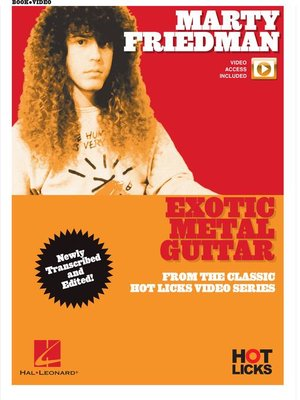 cover image of Marty Friedman--Exotic Metal Guitar