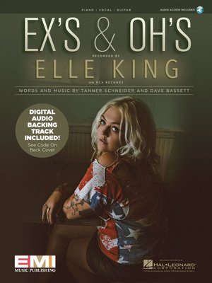 cover image of Ex's & Oh's Sheet Music