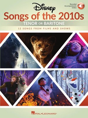 cover image of Disney Songs of the 2010s