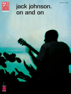 cover image of Jack Johnson--On and On (Songbook)