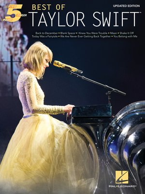 cover image of Best of Taylor Swift--Updated Edition
