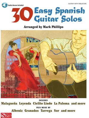 cover image of 30 Easy Spanish Guitar Solos