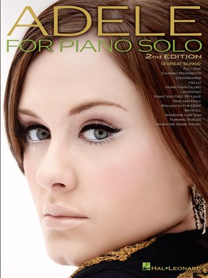 cover image of Adele for Piano Solo