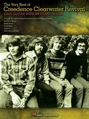 cover image of The Very Best of Creedence Clearwater Revival (Songbook)