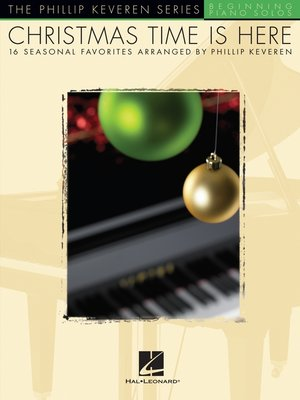 cover image of Christmas Time Is Here (Songbook)