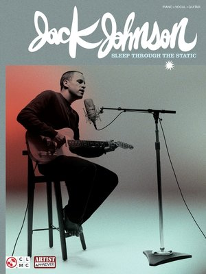 cover image of Jack Johnson--Sleep Through the Static (Songbook)