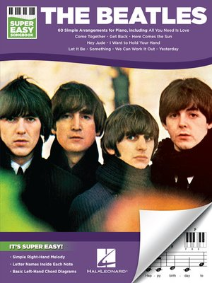 cover image of The Beatles--Super Easy Songbook