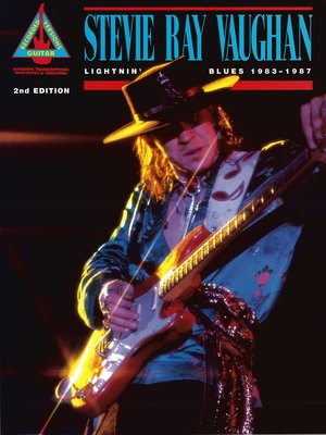 cover image of Stevie Ray Vaughan--Lightnin' Blues 1983-1987 Songbook
