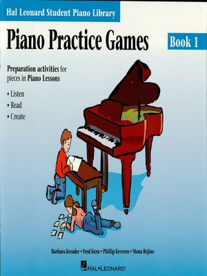 cover image of Piano Practice Games Book 1 (Music Instruction)