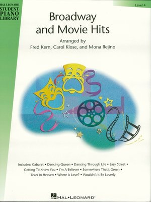 cover image of Broadway and Movie Hits--Level 4 (Songbook)