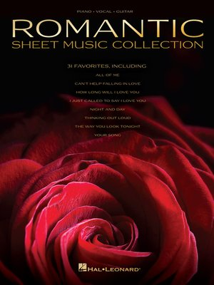 cover image of Romantic Sheet Music Collection