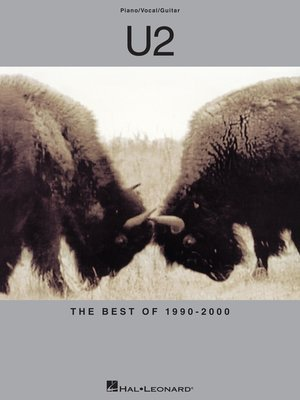 cover image of U2--The Best of 1990-2000 (Songbook)