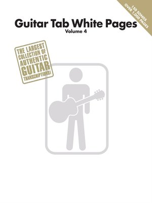 cover image of Guitar Tab White Pages--Volume 4 (Songbook)