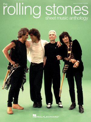 cover image of The Rolling Stones--Sheet Music Anthology