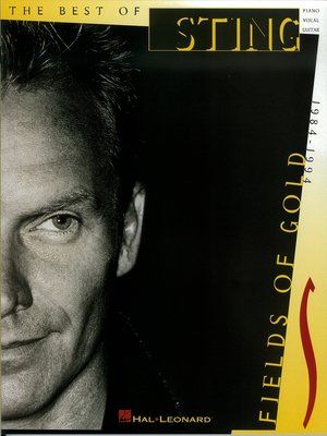 cover image of Sting--Fields of Gold (Songbook)