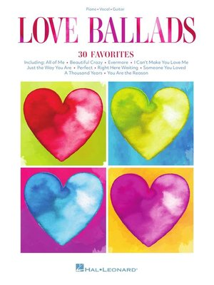 cover image of Love Ballads Songbook