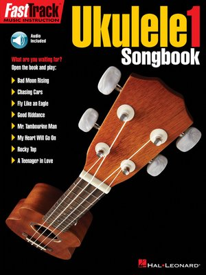 cover image of FastTrack Ukulele Songbook--Level 1