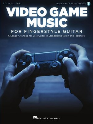 cover image of Video Game Music For Fingerstyle Guitar