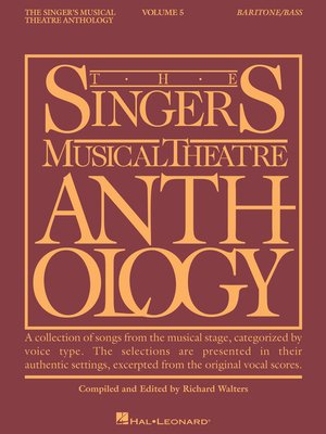 cover image of Singer's Musical Theatre Anthology--Volume 5