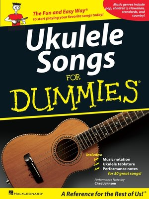 cover image of Ukulele Songs for Dummies (Songbook)