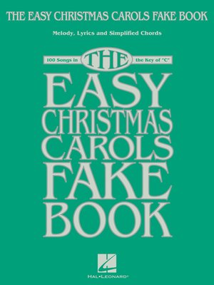 cover image of The Easy Christmas Carols Fake Book