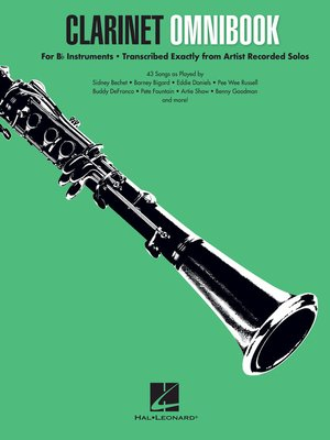 cover image of Clarinet Omnibook for B-flat Instruments