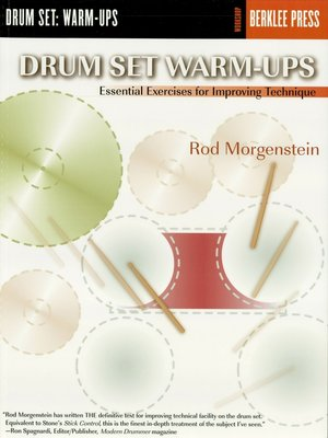 cover image of Drum Set Warm-Ups (Music Instruction)