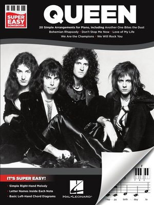 cover image of Queen--Super Easy Songbook