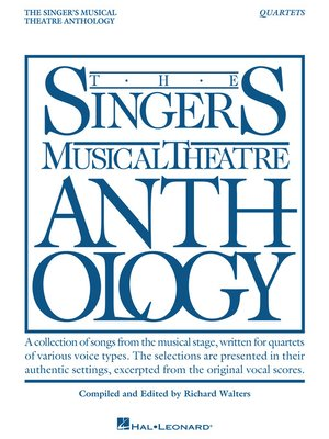 cover image of Singer's Musical Theatre Anthology--Quartets