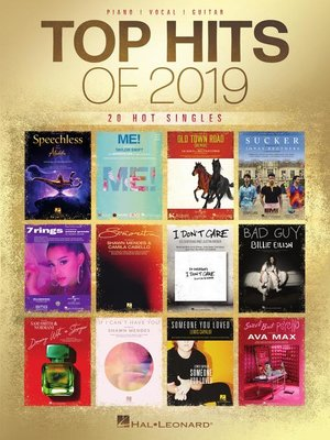 cover image of Top Hits of 2019 Songbook