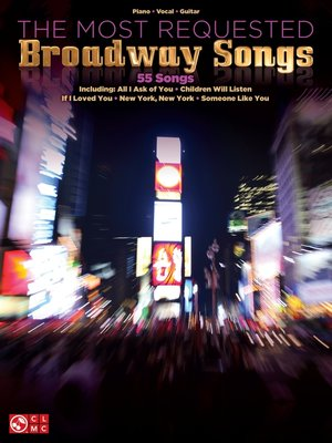 cover image of The Most Requested Broadway Songs (Songbook)