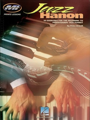 cover image of Jazz Hanon (Music Instruction)